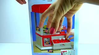 Достаем киндер сюрпризы обзор новои игрушки увлекательныи аппарат Kinder surprises