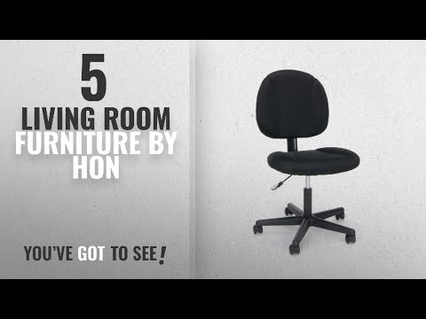Top 10 Hon Living Room Furniture [2018]: Essentials Swivel Upholstered Armless Task Chair -