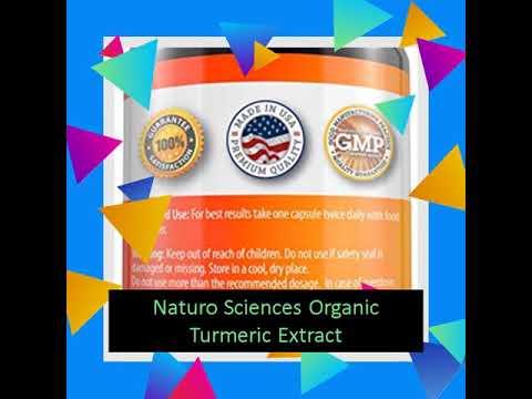 Naturo Sciences Organic Turmeric Extract