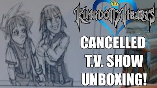 UNBOXING A PANEL FROM CANCELLED KINGDOM HEARTS T.V. SHOW!