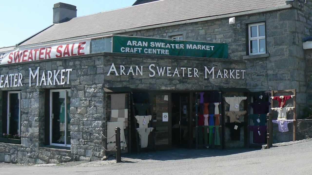 Aran Islands Sweater Market Youtube