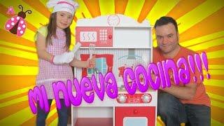 Mi Nueva Cocina de juguete - Juguetes para niñas