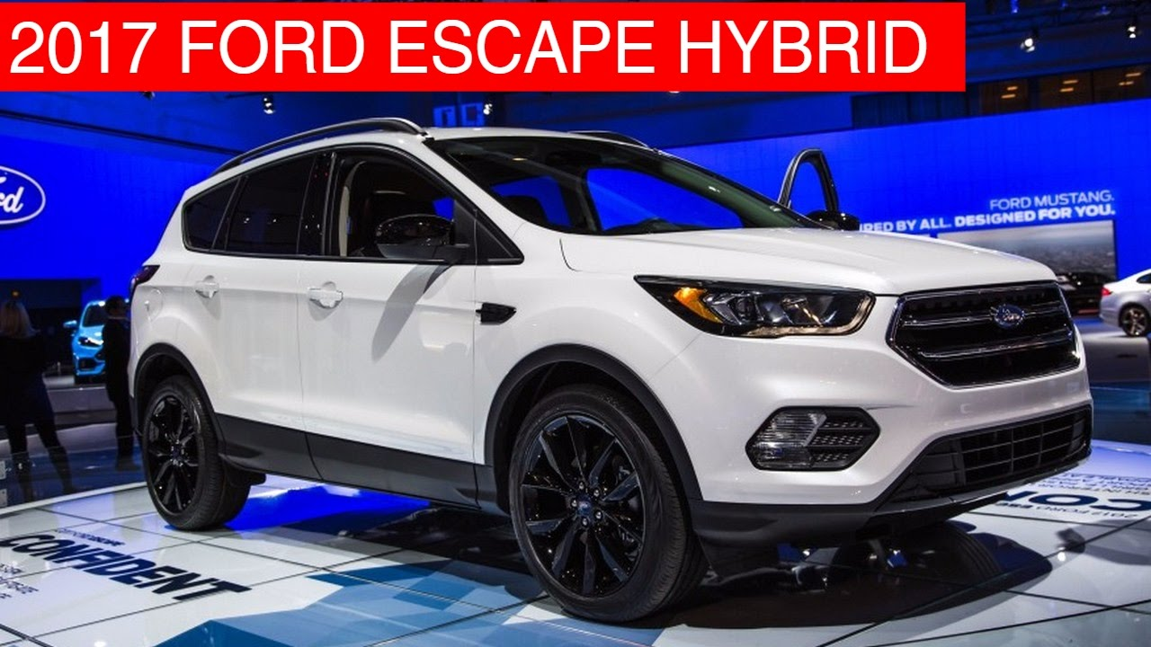 2017 ford escape hybrid exterior interior price and release date