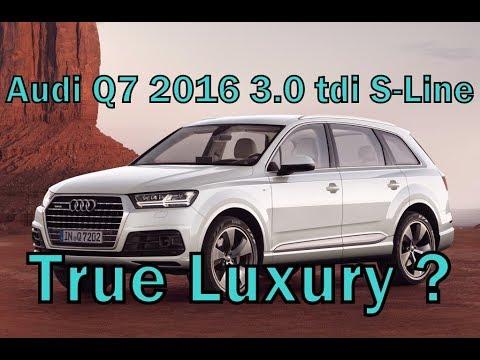 Audi Q7 2016 3.0 Tdi S-line Премиум кроссовер?