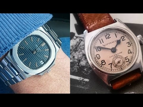 A Watch Collection of Vintage Wittnauer, Max Bill Junghans, & A Patek Nautilus | COLLECTION REVIEW