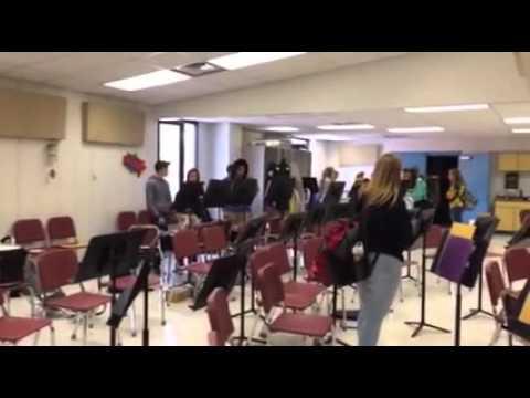 """""""Caffeinate"""" - Berkeley Springs High School Drumline"""