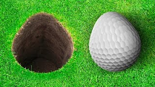 PUTTING EGGS! - GOLF WITH FRIENDS