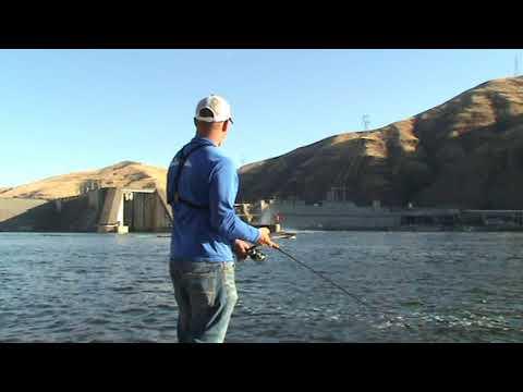 Fishing The Snake River In Washington