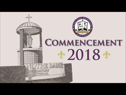 Notre Dame Prep 2018 Graduation