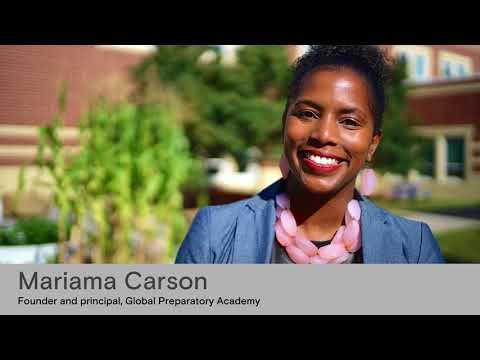 Reinventing America's Schools: Mariama Carson, Founder & Principal, Global Preparatory Academy