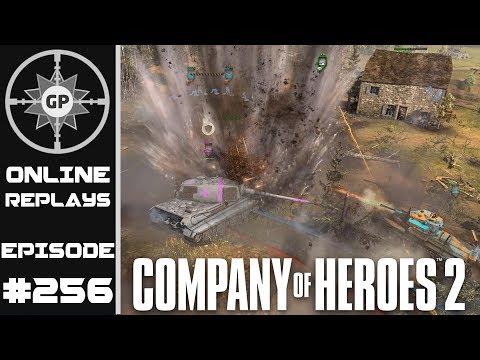 Company of Heroes 2 Online Replays #256 - Pressuring the Wea
