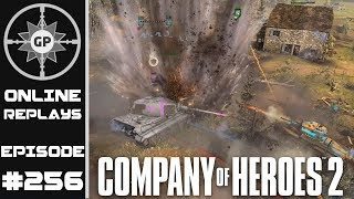 Company of Heroes 2 Online Replays #256 - Pressuring the Weak Links
