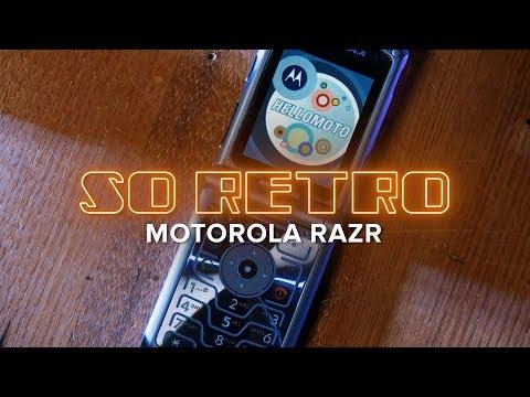 I designed the Motorola Razr | So Retro