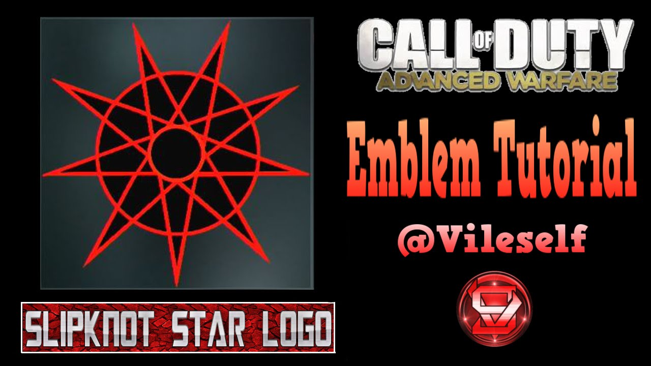Advanced warfare emblem tutorial slipknot star logo youtube advanced warfare emblem tutorial slipknot star logo biocorpaavc Choice Image