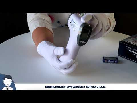 Termometr Bezdotykowy TECHMED TM-F03BB - Prezentacja Produktu - Helpik24.pl