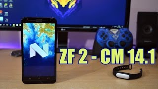 Asus Zenfone 2 : Install CM 14.1 ( Android 7.1.1 Nougat)