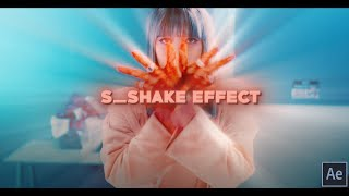 S_Shake Effect | After Effects