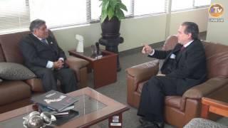 Tema: Embajador de Cuba Visita al Rector de la UNMSM