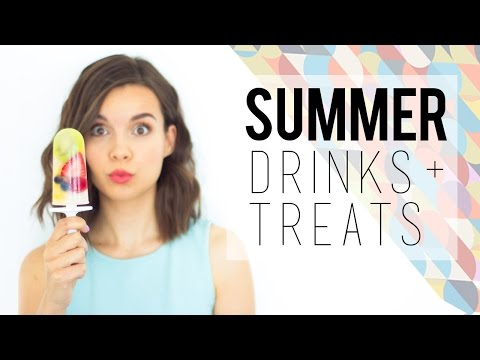 Stay Cool This Summer // Drinks + Treats