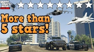If you could get more than 5 wanted stars! - GTA online