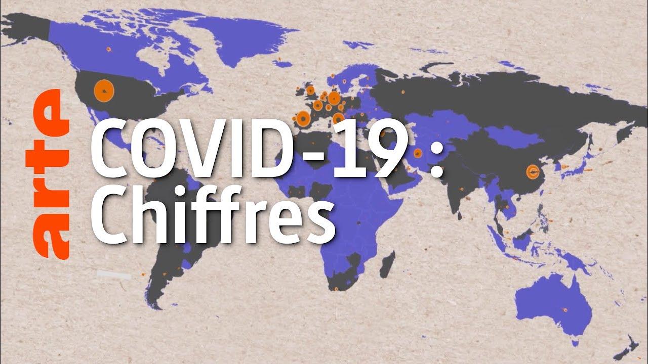 COVID-19 : décoder les chiffres | Data Science vs Fake | ARTE