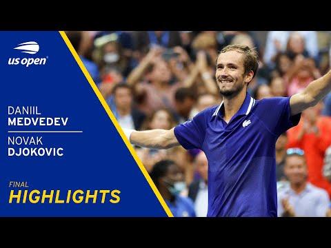 Daniil Medvedev vs Novak Djokovic Highlights | 2021 US Open FInal
