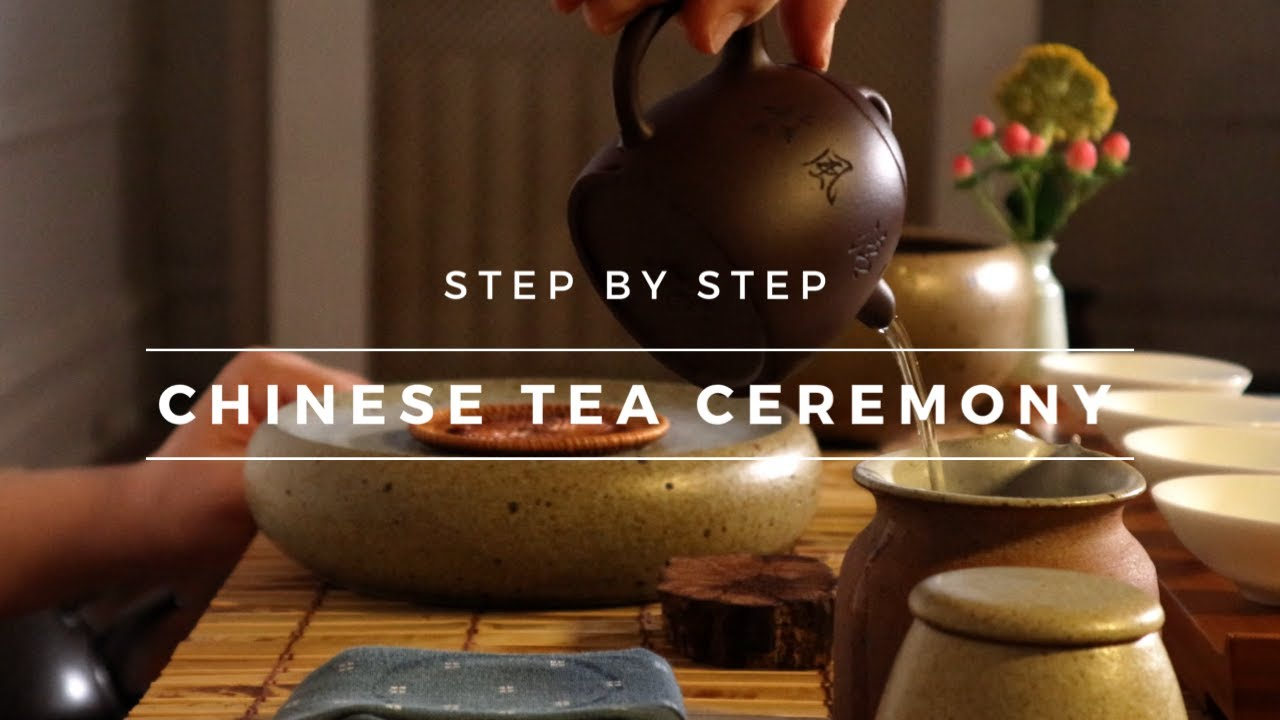 How to do Chinese Tea Ceremony? (Teapot Brewing Method)