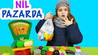 Nil Pazarda Çizgi Film Tadında   Eğlenceli Çocuk Videosu   EvcilikTV