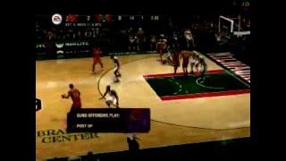NBA Live 08 Alley OOp Trick Guide