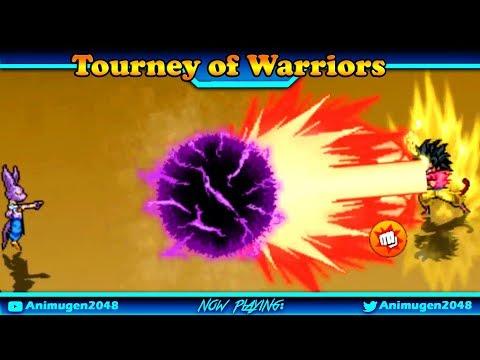 💛 Tournament OF warrior APK #5 💛 Random Battle Goku Master All Transformation - Animugen2048 #FHD - 동영상