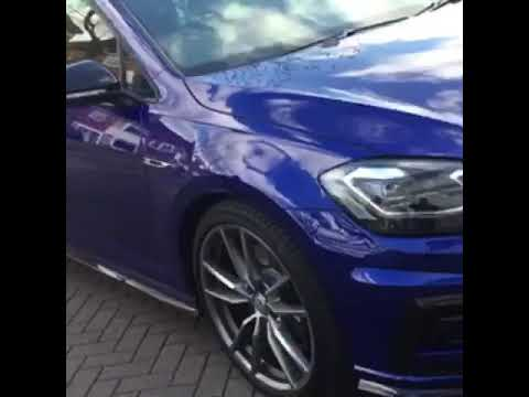 2019 Golf R with a great review of our firm www.ghostinstallations.co.uk