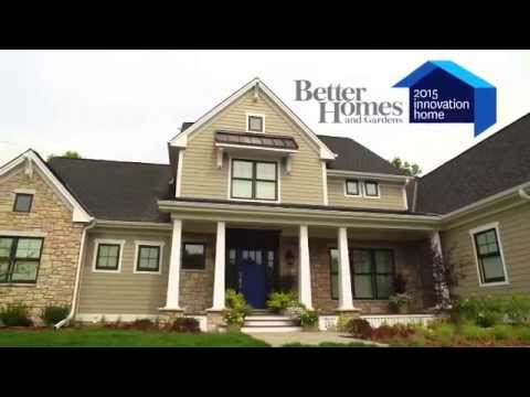 Better Homes and Gardens 2015 Innovation Home featuring Pella
