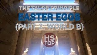 Top 10 Easter Eggs #2 ★ The Talos Principle