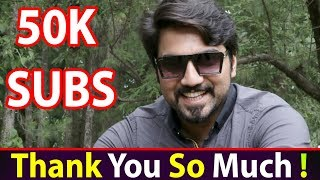 50,000 SUBSCRIBERS!!! Thank You So Much :) Murree #MRNOMAN
