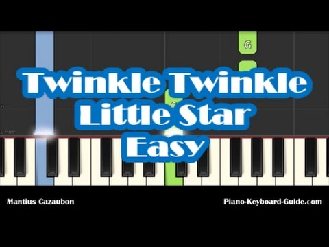 How To Play Twinkle Twinkle Little Star On Piano Easy Notes And