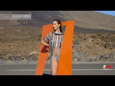 """""""CHRISTY TURLINGTON"""" For MISSONI Campaign Spring 2014 by Fashion Channel"""