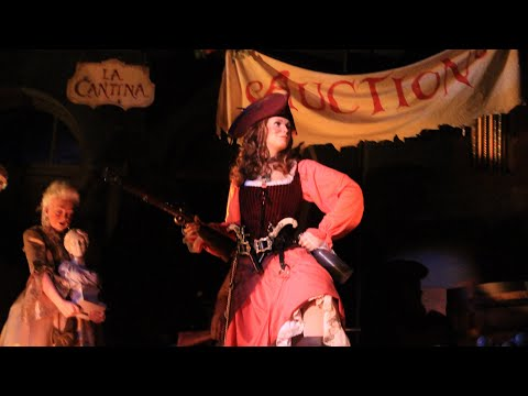New Auction Scene with Talking Redhead Debuts at Pirates of the Caribbean, Walt Disney World