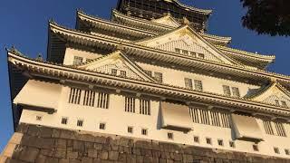 初次去大阪城天守閣