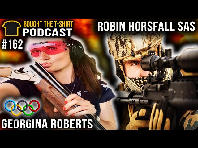 SAS Sniper Vs. Olympic Sharpshooter | Robin Horsfall | Georgina Roberts | Podcast #162