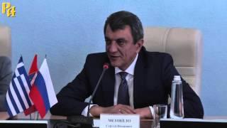 Мэр греческого Коринфа посетил Крым и подписал меморандум о сотрудничестве
