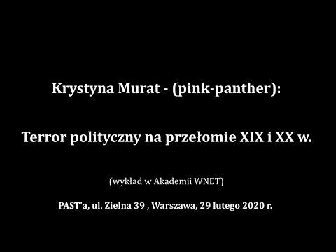 Krystyna Murat - (pink-panther): Terror Polityczny Na Przełomie XIX I XX W.