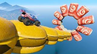 🍔 HAMBURGUESAS GIGANTES 🍔 - CARRERA GTA V ONLINE - GTA 5 ONLINE