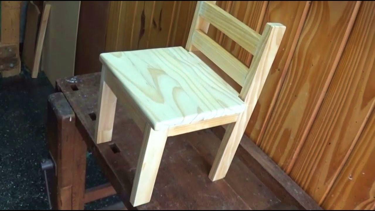 Como hacer sillas de madera con un destornillador nueva edici n juan carlos aquila youtube - Como tapizar sillas de madera ...