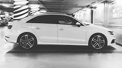 On réceptionne une Audi A3 neuve a Audi Lausanne :D