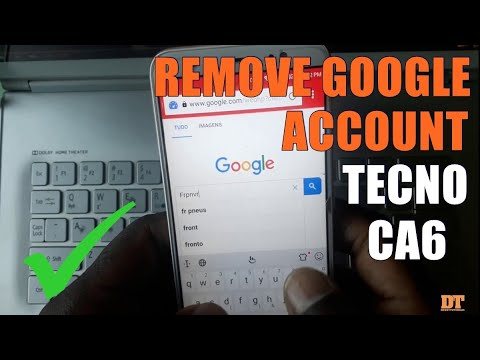 HOW TO BYPASS REMOVE FRP TECNO CA6 (CAMON CM) - YouTube