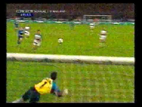 Schalke - Inter Mailand 1996/1997 1-0 Marc Wilmots