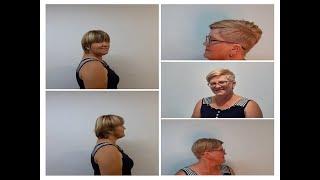 Короткая женская стрижка Пикси Short female haircut Pixie
