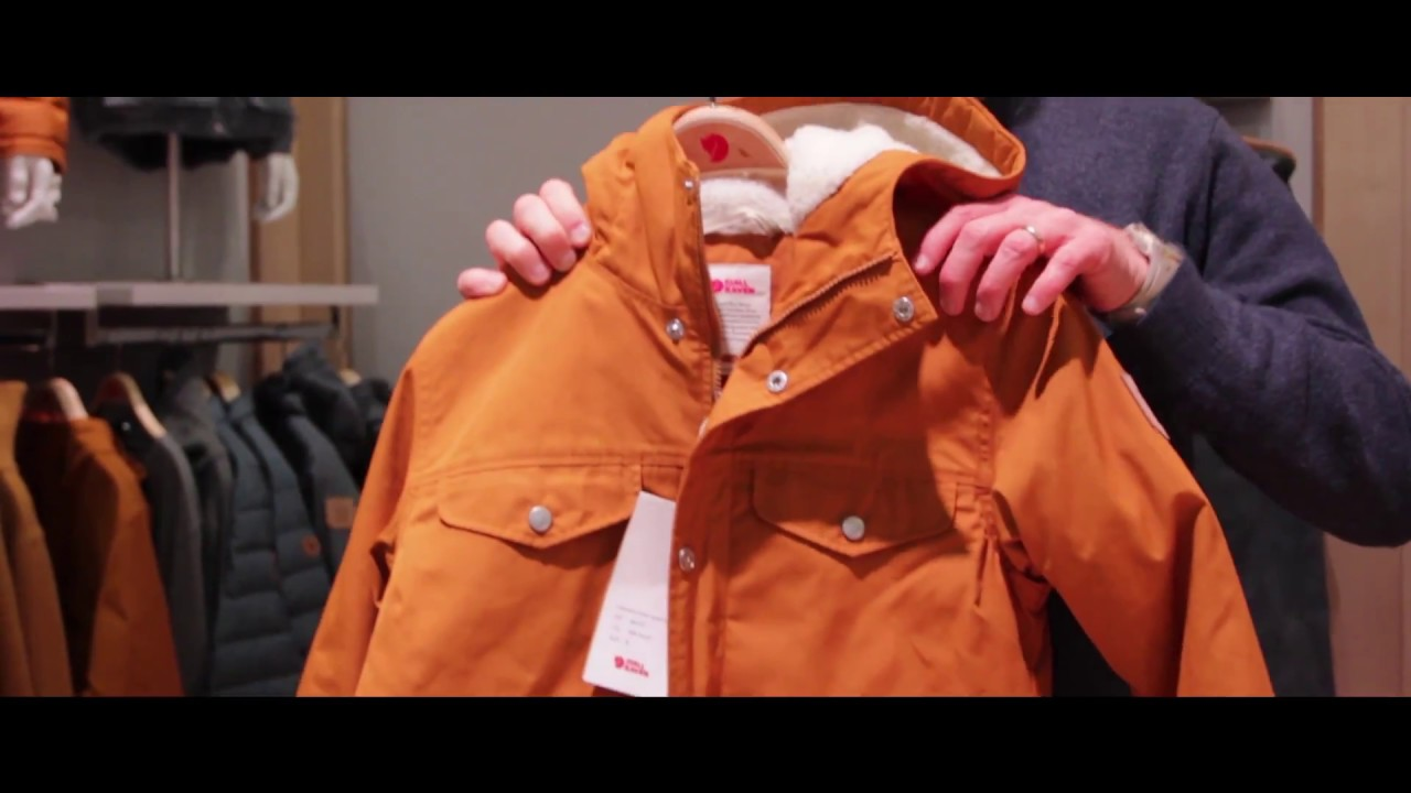 classic fit newest professional sale Fjällräven Greenland Winter Jacket ad ISPO 2018