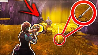 DUMBEST Scammer Losses New Modded Swords! (Scammer Gets Scammed) In Fortnite Save The World Pve