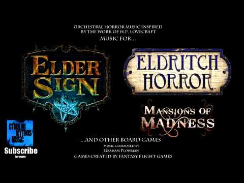 Eldritch Horror & Elder Sign: 1 Hour of H.P. Lovecraft Music for Board Games and Role Playing Mp3